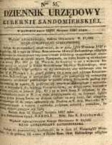 Dziennik Urzędowy Gubernii Sandomierskiej, 1837, nr 35