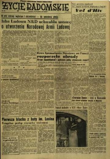 Życie Radomskie, 1956, nr 16
