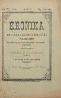 Kronika Diecezji Sandomierskiej, 1914, R. 7, nr 5/6
