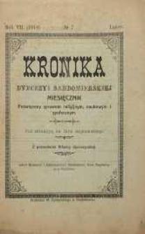 Kronika Diecezji Sandomierskiej, 1914, R. 7, nr 7