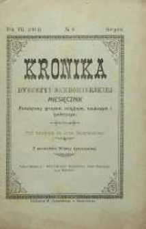 Kronika Diecezji Sandomierskiej, 1914, R. 7, nr 8