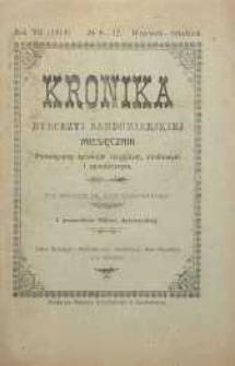Kronika Diecezji Sandomierskiej, 1914, R. 7, nr 9/12