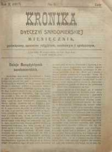 Kronika Diecezji Sandomierskiej, 1917, R. 10, nr 2