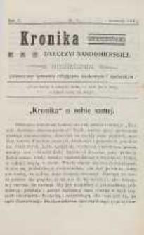 Kronika Diecezji Sandomierskiej, 1913, R. 6, nr 11