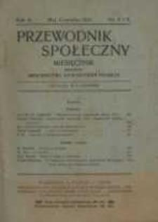 Przewodnik społeczny : miesięcznik poświęcony Kierownictwu Stowarzyszeń Polskich , 1921, R. 2, nr 8/9