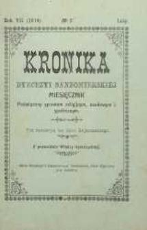 Kronika Diecezji Sandomierskiej, 1914, R. 7, nr 2