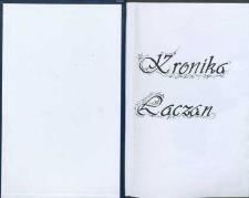 Kronika Łączan