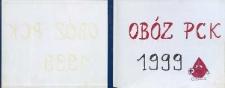 [Obóz Polskiego Czerwonego Krzyża 1999 : Solec nad Wisłą : kronika]