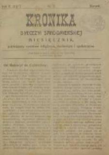 Kronika Diecezji Sandomierskiej, 1917, R. 10, nr 1