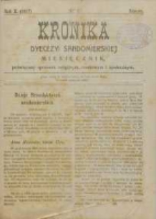Kronika Diecezji Sandomierskiej, 1917, R. 10, nr 3