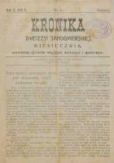 Kronika Diecezji Sandomierskiej, 1917, R. 10, nr 4