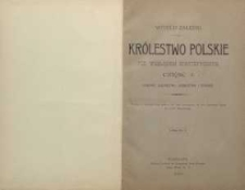 Królestwo Polskie pod względem statystycznym: Cz. 1. Ludność, rolnictwo, górnictwo i finanse; Cz.2. Statystyka zajęć i przemysłuRBC