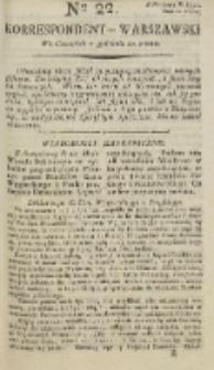 Korrespondent Warszawski, 1792, nr 22