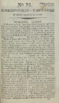 Korrespondent Warszawski, 1792, nr 32