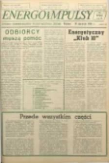 Energoimpulsy : Organ Samorządów Robotniczych ZEOW, 1981, R. 9, nr 1