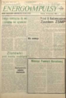 Energoimpulsy : Organ Samorządów Robotniczych ZEOW, 1981, R. 9, nr 5
