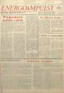 Energoimpulsy : Organ Samorządów Robotniczych ZEOW, 1981, R. 9, nr 6