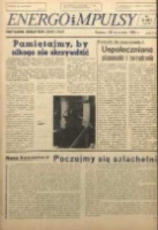 Energoimpulsy : Organ Samorządów Robotniczych ZEOW, 1981, R. 9, nr 12