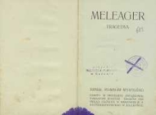 Meleager : tragedya