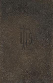 Breviarium romanum : ex decreto SS. Concilii Tridentini restitutum S. Pii V pontificis maximi jussu editum aliorumque pontificum cura recognitum Pii Papae X auctoritate reformatum