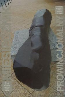 Miesięcznik Prowincjonalny, 2014, R. 16, nr 1