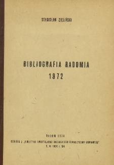 Bibliografia Radomia 1972