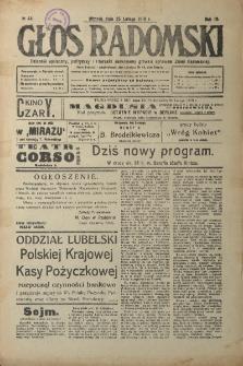Głos Radomski, 1919, R. 4, nr 44