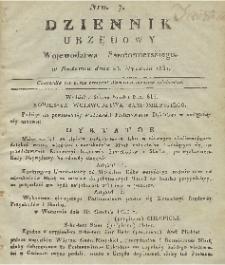 Dziennik Urzędowy Województwa Sandomierskiego, 1831, nr 7