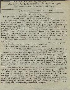 Dziennik Urzędowy Województwa Sandomierskiego, 1831, nr 8, dod. II