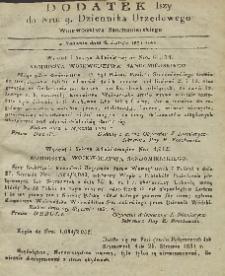Dziennik Urzędowy Województwa Sandomierskiego, 1831, nr 9, dod. I