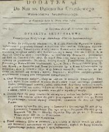 Dziennik Urzędowy Województwa Sandomierskiego, 1831, nr 20, dod.II