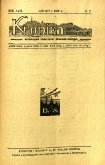 Kronika Diecezji Sandomierskiej, 1925, R. 18, nr 11