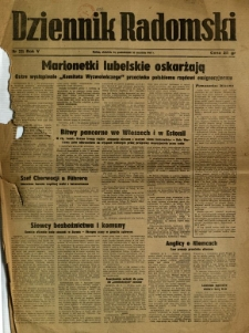 Dziennik Radomski, 1944, R. 5, nr 225