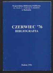 Czerwiec '76. Bibliografia